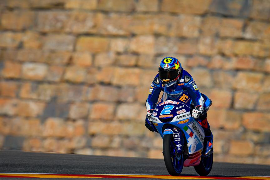 Gabriel Rodrigo, Kőmmerling Gresini Moto3, Gran Premio Liqui Moly de Teruel