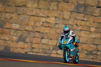 Masia setzt starke Form im Moto3™ FP1 beim TeruelGP fort