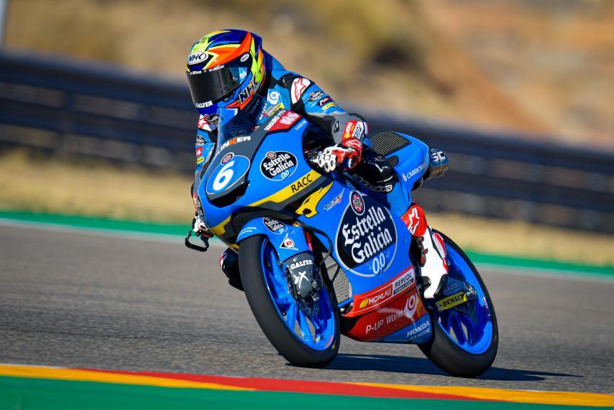 Ryusei Yamanaka, Estrella Galicia 0,0, Gran Premio Liqui Moly de Teruel