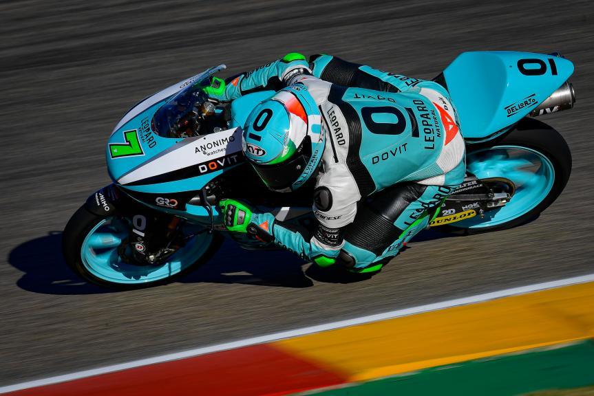 Dennis Foggia, Leopard Racing, Gran Premio Liqui Moly de Teruel