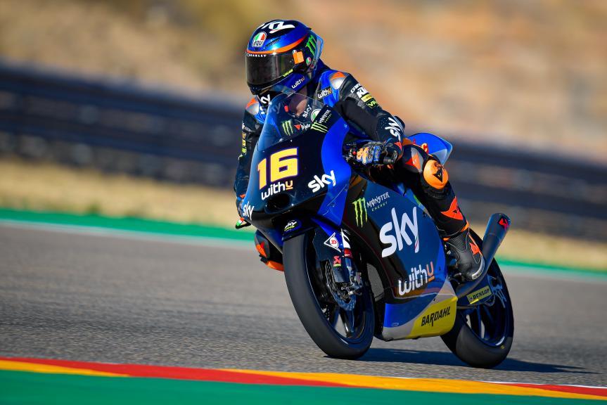 Andrea Migno, SKY Racing Team Vr46, Gran Premio Liqui Moly de Teruel