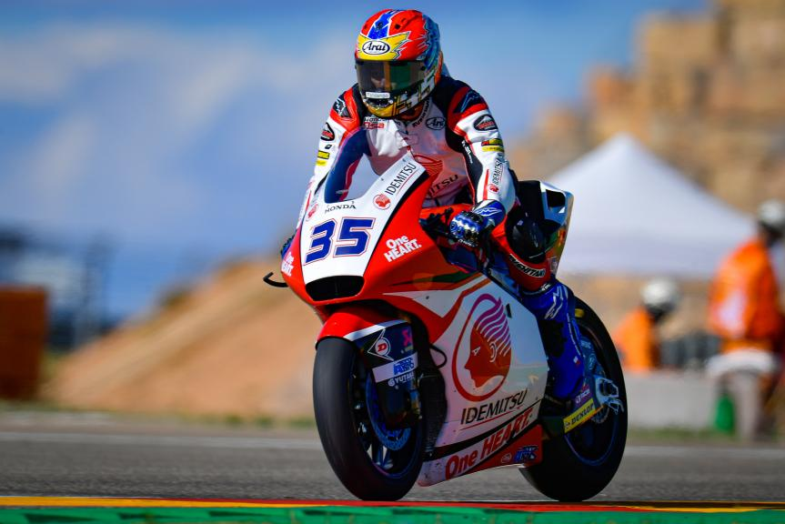 Somkiat Chantra, Idemitsu Honda Team Asia, Gran Premio Liqui Moly de Teruel