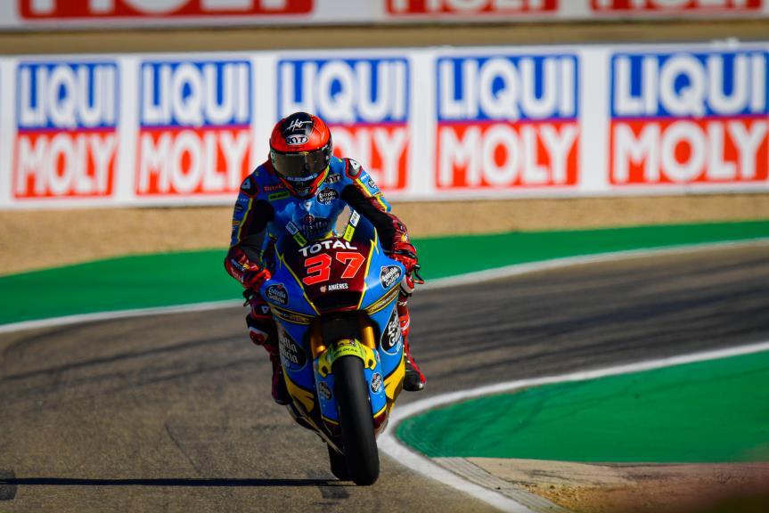 Augusto Fernandez, EG 0,0 Marc VDS, Gran Premio Liqui Moly de Teruel
