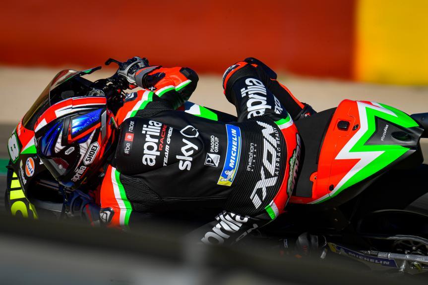 Bradley Smith, Aprilia Racing Team Gresini, Gran Premio Liqui Moly de Teruel
