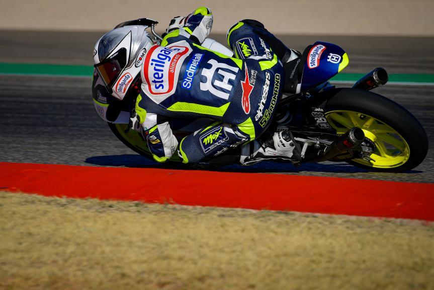 Romano Fenati, Sterilgarda Max Racing Team, Gran Premio Liqui Moly de Teruel