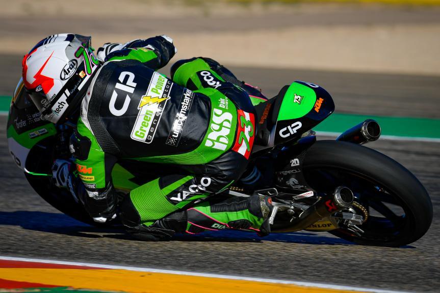Maximilian Kofler, CIP Green Power, Gran Premio Liqui Moly de Teruel