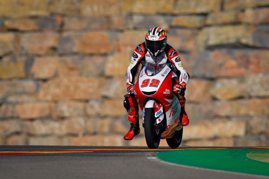 Yukii Kunii, Honda Team Asia, Gran Premio Liqui Moly de Teruel