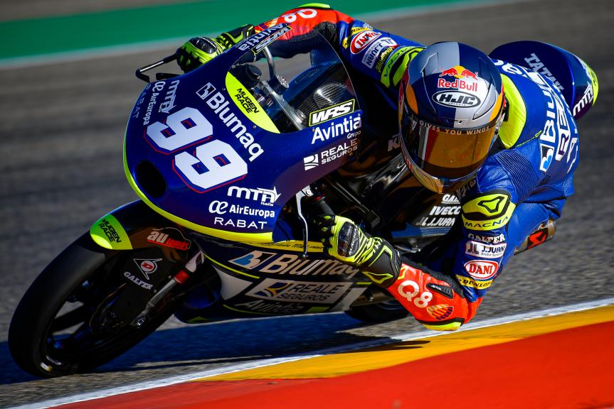 Carlos Tatay, Reale Avintia Moto3, Gran Premio Liqui Moly de Teruel