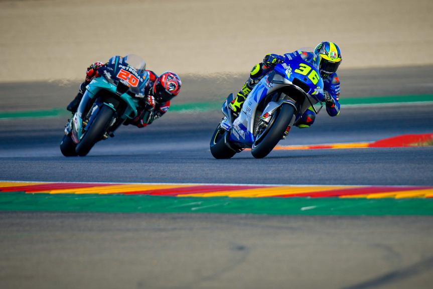 Joan Mir, Fabio Quartararo, Gran Premio Liqui Moly de Teruel