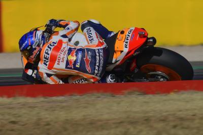 Alex Marquez detta il passo nella FP1 del GP de Teruel