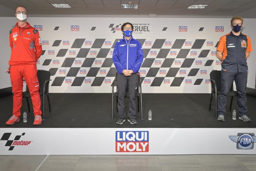 Press-Conference, Gran Premio Liqui Moly de Teruel
