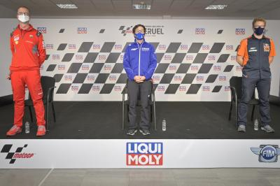 Yamaha, Ducati and KTM Technical Managers' Press Conference