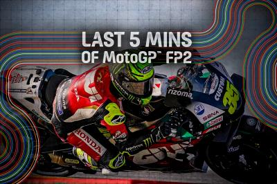 FREE: Who took top spot in the closing stages of FP2?