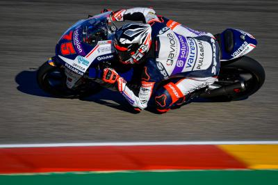 Arenas heads Moto3™ grid into qualifying despite FP3 penalty