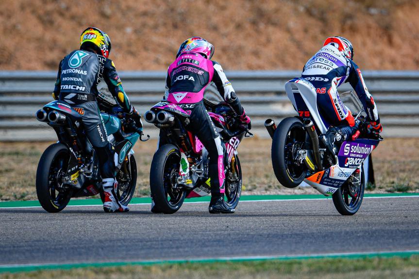 Albert Arenas, Solunion Aspar Team Moto3, Gran Premio Liqui Moly de Teruel