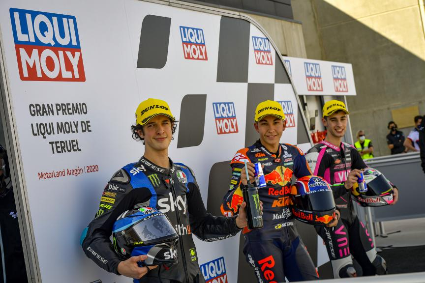Raul Fernandez, Tony Arbolino, Gran Premio Liqui Moly de Teruel