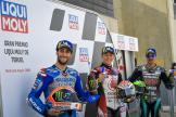 Takaaki Nakagami, Franco Morbidelli, Alex Rins, Gran Premio Liqui Moly de Teruel