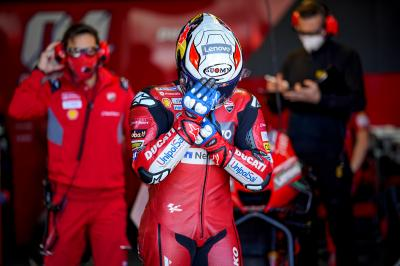 Dejected Dovizioso admits Championship challenge is over