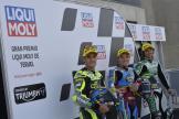 Sam Lowes, Jorge Navarro, Remy Gardner, Gran Premio Liqui Moly de Teruel