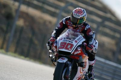 Nakagami produces MotorLand magic for maiden MotoGP™ pole