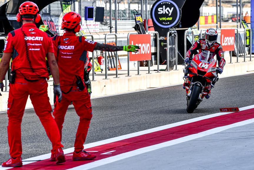 Andrea Dovizioso, Ducati Team, Gran Premio Liqui Moly de Teruel