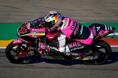 Arbolino leads Snipers 1-2 in Moto3™ Warm Up