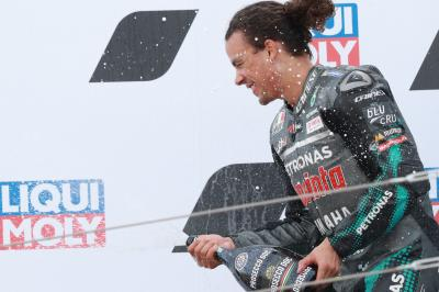 'I had dynamite for breakfast' - Morbidelli's victory secret