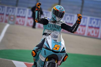 Masia doubles up for Honda's 800th Grand Prix win