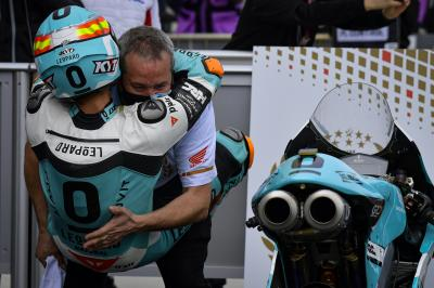 """I'm a piece of Honda's history"" - Moto3™ rostrum round-up"