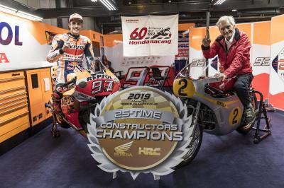 Honda makes history: 800 motorcycle Grand Prix wins