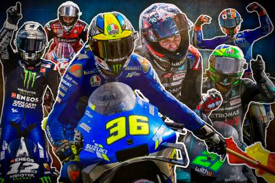 Three races, six riders, 32 points: the stage is set