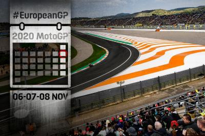 Tutti gli appuntamenti del Gran Premio de Europa
