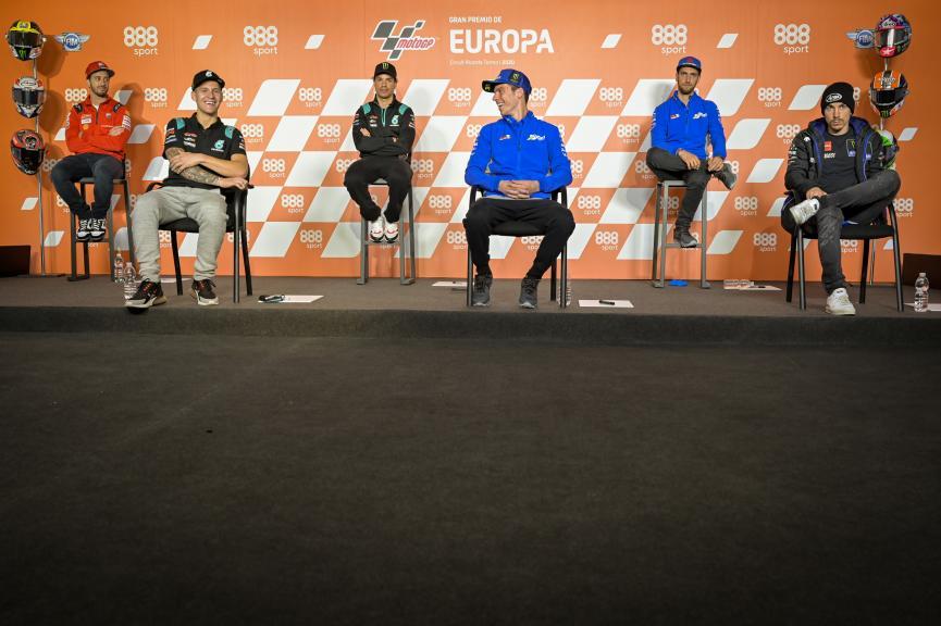 Press-Conference, Gran Premio de Europa