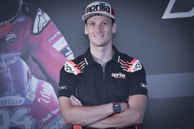 Savadori, listo para su debut con Aprilia en MotoGP™