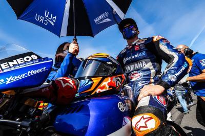 Gerloff è in panchina, pronto a sostituire Rossi a Valencia