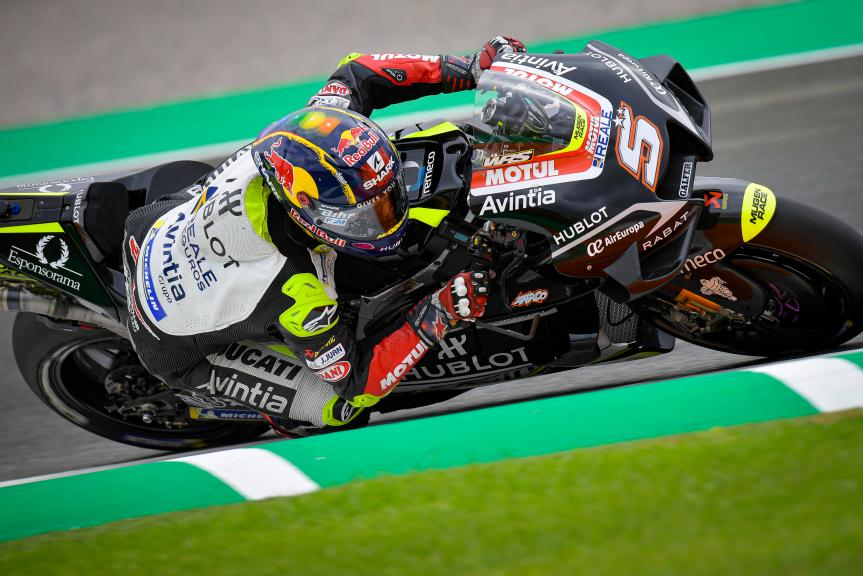 Johann Zarco, Esponsorama Racing, Gran Premio de Europa