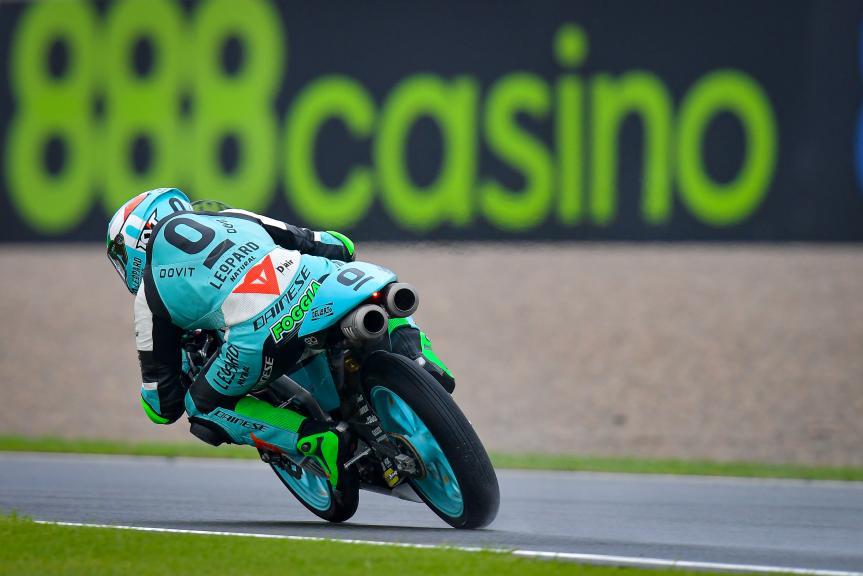 Dennis Foggia, Leopard Racing, Gran Premio de Europa