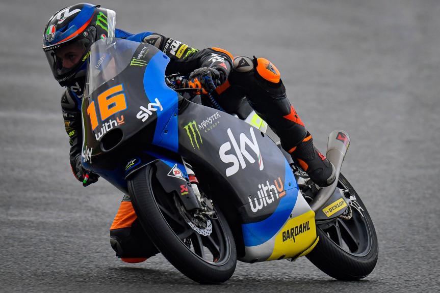 Andrea Migno, SKY Racing Team Vr46, Gran Premio de Europa