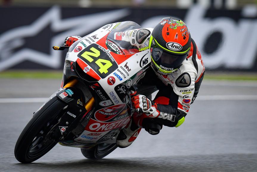 Tatsuki Suzuki, Sic58 Squadra Corse, Gran Premio de Europa