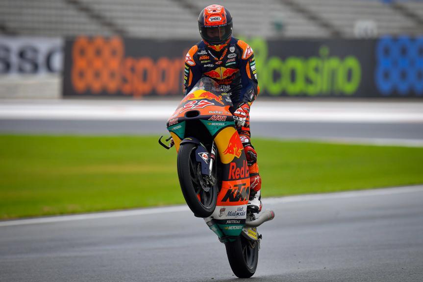Kaito Toba, Red Bull KTM Ajo, Gran Premio de Europa