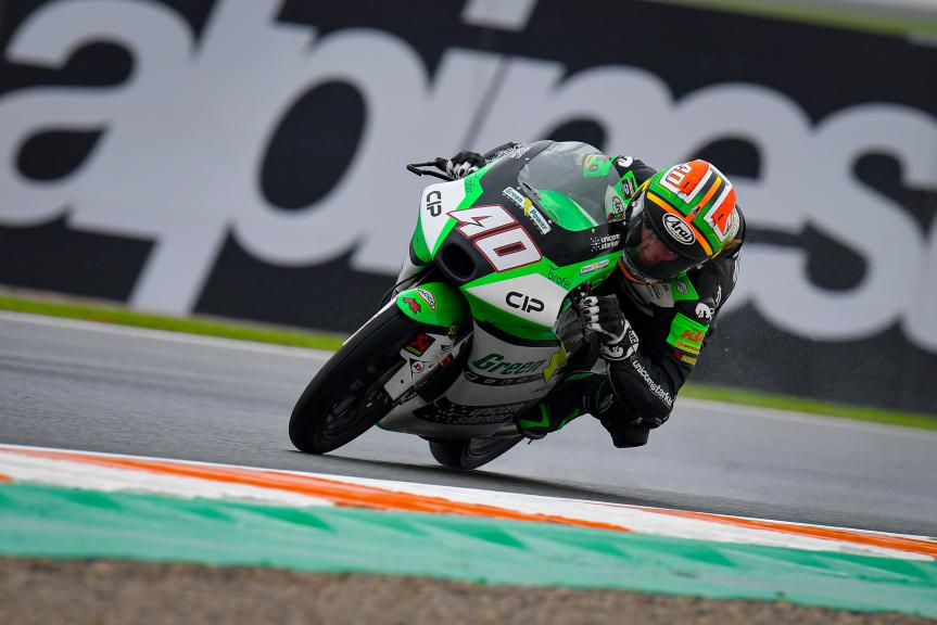 Darryn Binder, CIP Green Power, Gran Premio de Europa