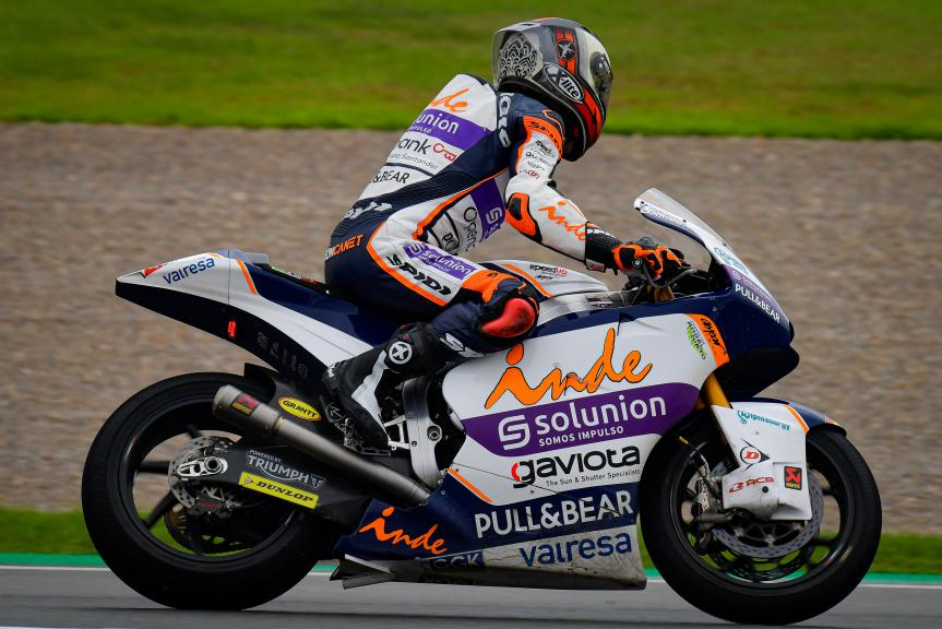 Aron Canet, Inde Aspar Team Moto2, Gran Premio de Europa