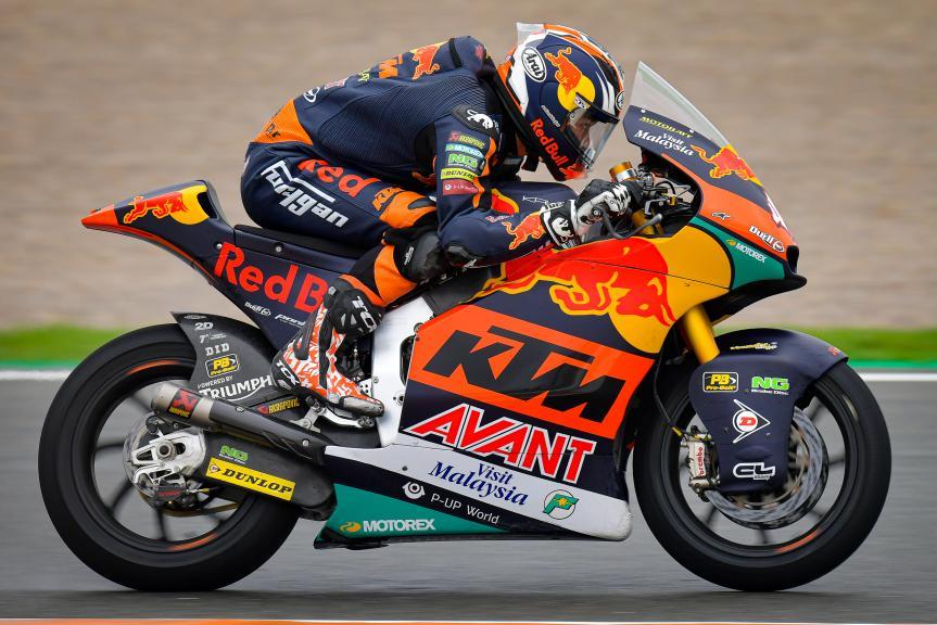 Tetsuta Nagashima, Red Bull KTM AJO, Gran Premio de Europa