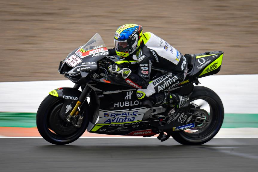 Tito Rabat, Esponsorama Racing, Gran Premio de Europa