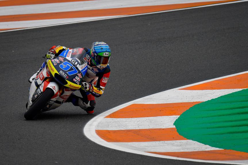 Edgar Pons, Federal Oil Gresini Moto2, Gran Premio de Europa