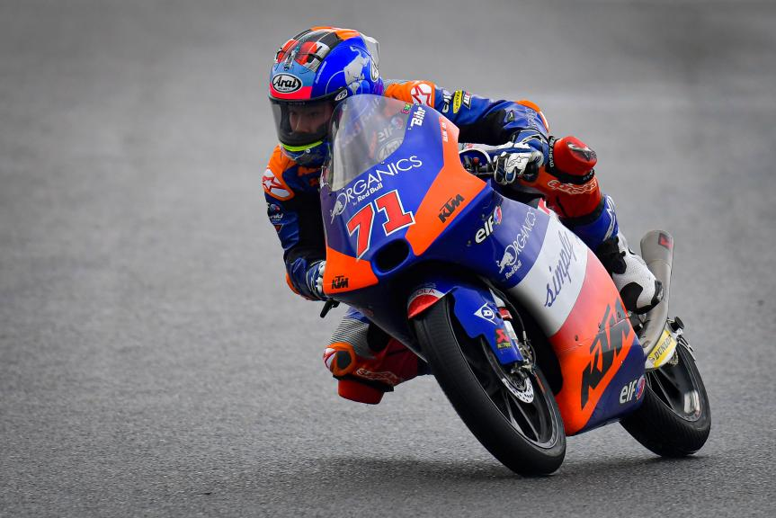 Ayumu Sasaki, Red Bull KTM Tech 3, Gran Premio de Europa