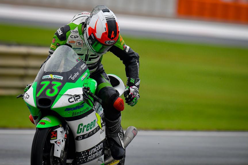 Maximilian Kofler, CIP Green Power, Gran Premio de Europa