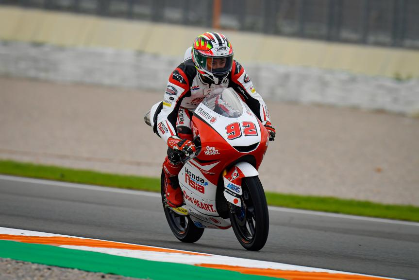 Yukii Kunii, Honda Team Asia, Gran Premio de Europa