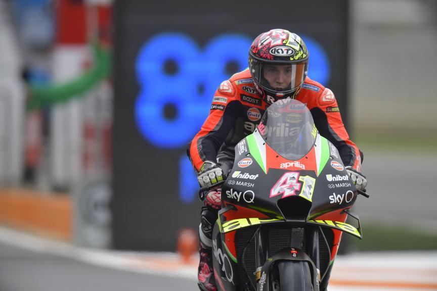 Aleix Espargaro, Aprilia Racing Team Gresini, Gran Premio de Europa