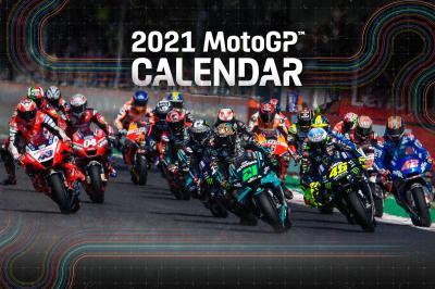 Découvrez le calendrier provisoire 2021 du MotoGP™ !
